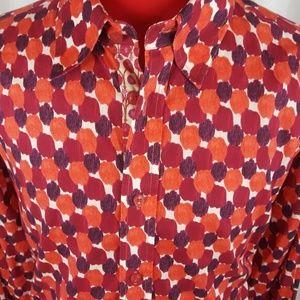 Robert Graham Shirt 3XL Multicolor Abstract Design